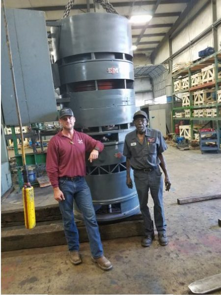 On site or in house maintenance repair industrial for Industrial electric motor repair